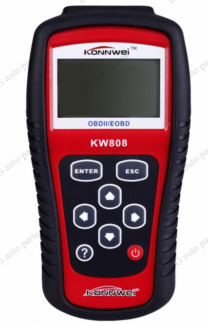 KW808 VAG405 EOBD OBD2 OBDII Diagnostic Scan Tool Vehicles Car Fault Code Reader