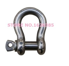M12 SIZE 12MM 304 stainless Steel bow shackle electric part lifting hardware industrial hardware(China (Mainland))