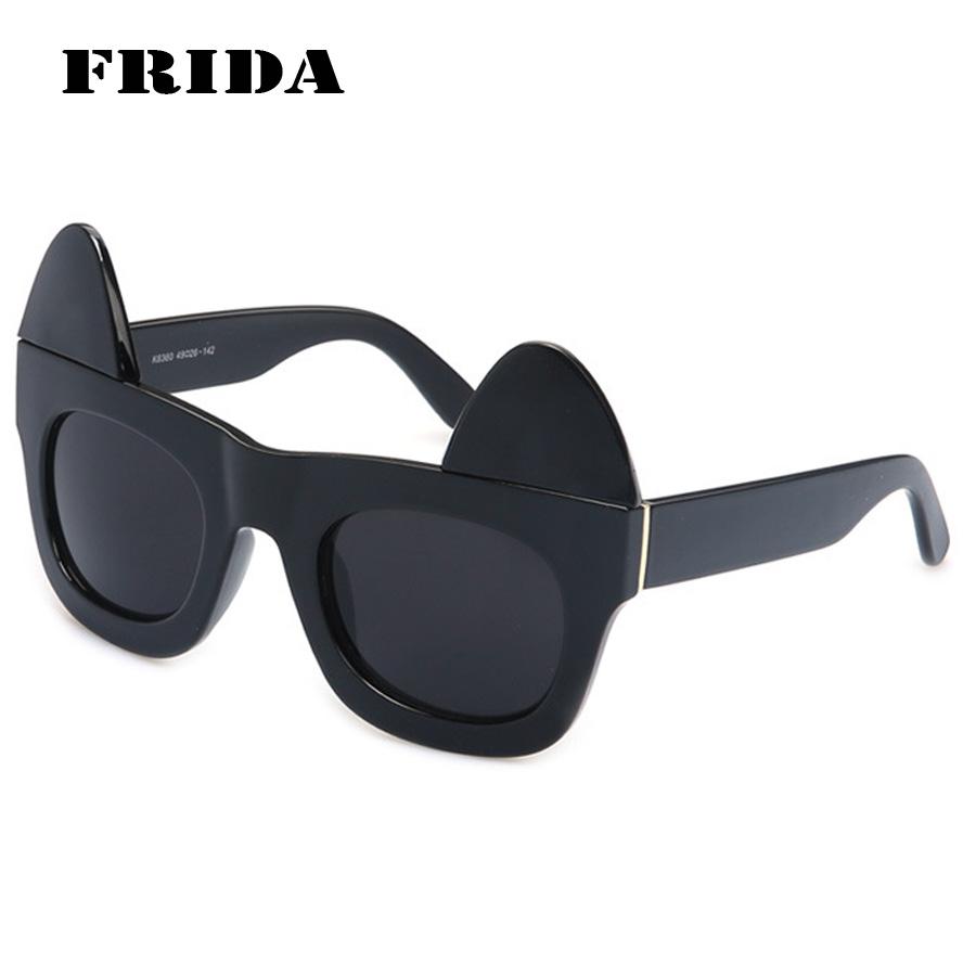 2016 Personality Detachable Cat Eye sunglasses women men brand designer Fashion leader sun glasses goggles Eyewear Oculos De Sol(China (Mainland))