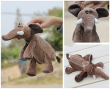 Plush toy cute 1pc 25cm nici forest long nose elephant school fashion bag toy children gift
