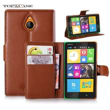Nokia X2 litchi texture wallet flip pu leather magnetic cover case credit card slot SJ3282 - NX Malls store