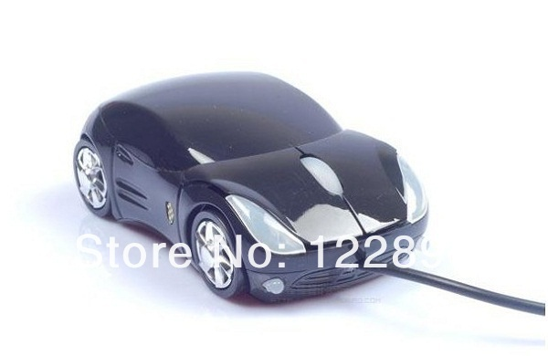 Wholesale! 20pcs/lot Car Shape USB 3D Optical Mouse Mice for Laptop MAC Notebook WIN7 XP Vista Computer Mouse Free Shipping