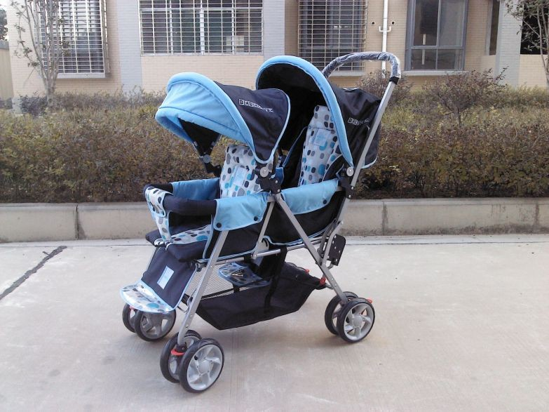 Twins Prams Double Buggy,CE Standard,Made in China,Free Shipping,Drop Shipping,Portable and Safety Child Twins Strollers<br><br>Aliexpress