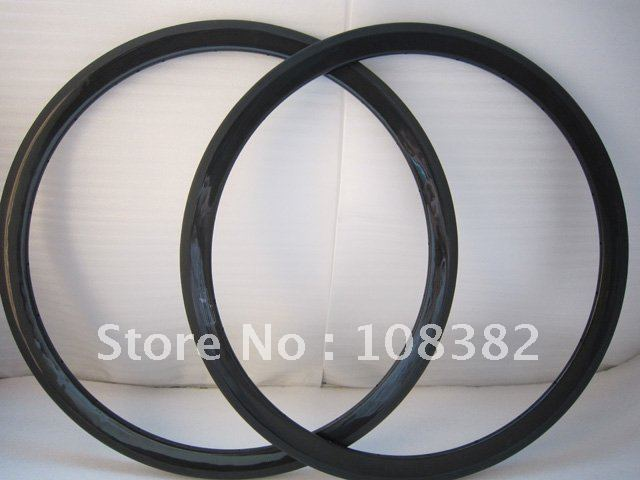 full carbon fiber/carbon cycle bike rims 38mm clincher 700C in stock(China (Mainland))