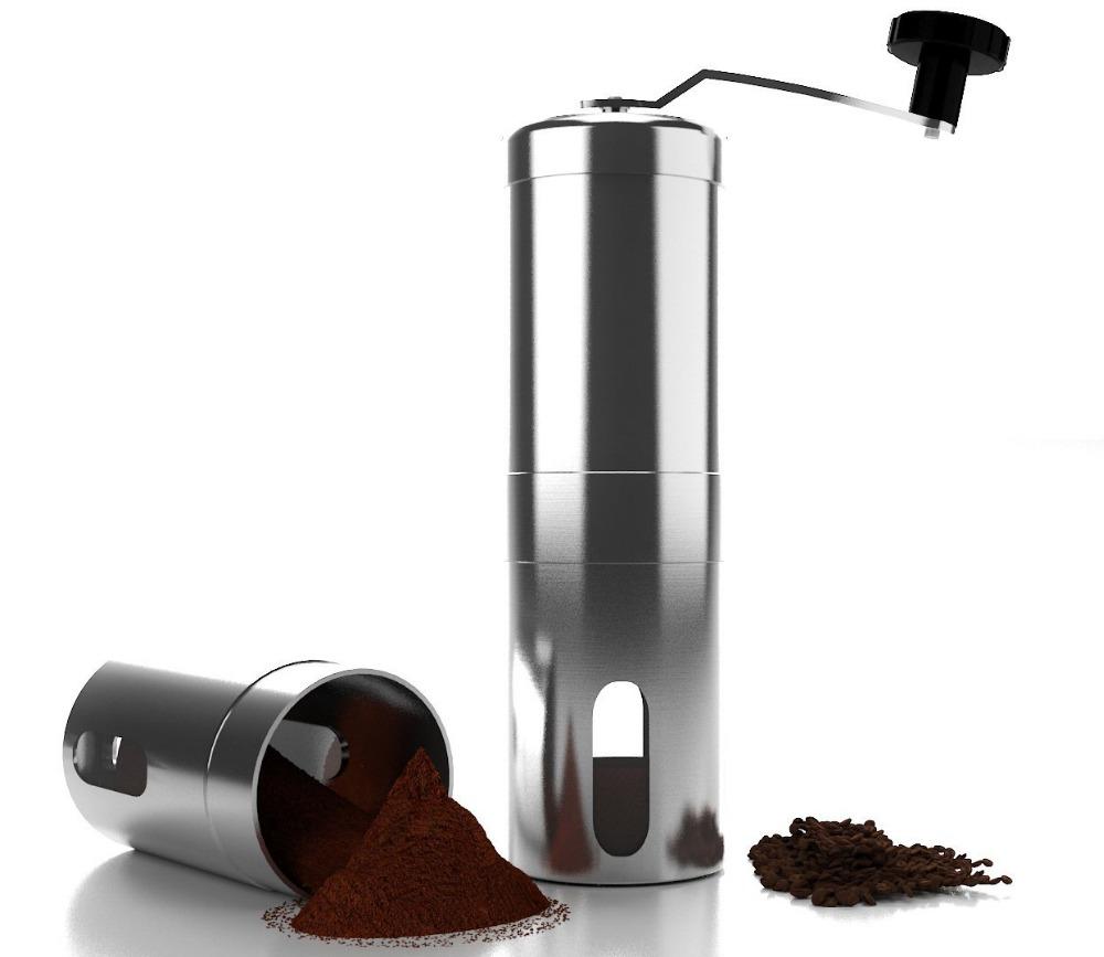 Delta High Living Coffee Maker With Grinder : Coffee Grinder Manual coffee maker Retro Coffee Mill Machine Porcelain Movement eBay