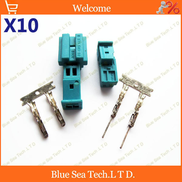 10 sets Good quality Auto connector,Car Speaker plug,Auto stereo plug,Car electric connector for BMW car ect.Free Shipping(China (Mainland))