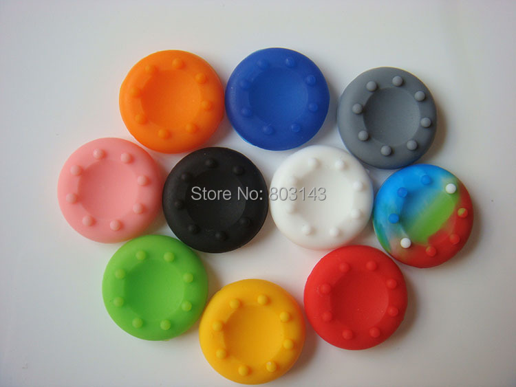 10 colors PlayStation 4 PS4 Controller Rubber Silicone Thumbstick Thumb Sticker Cover Cap Joystick Grips - TOPWin video game repair store