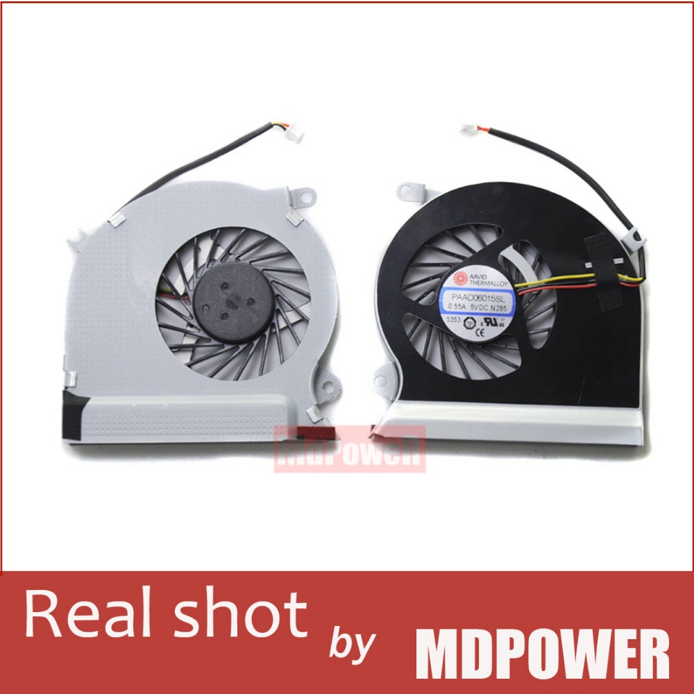 Brand new original FOR MSI GE70 laptop cooling fan the original PAAD06015SL 0.55A 5VDC(China (Mainland))