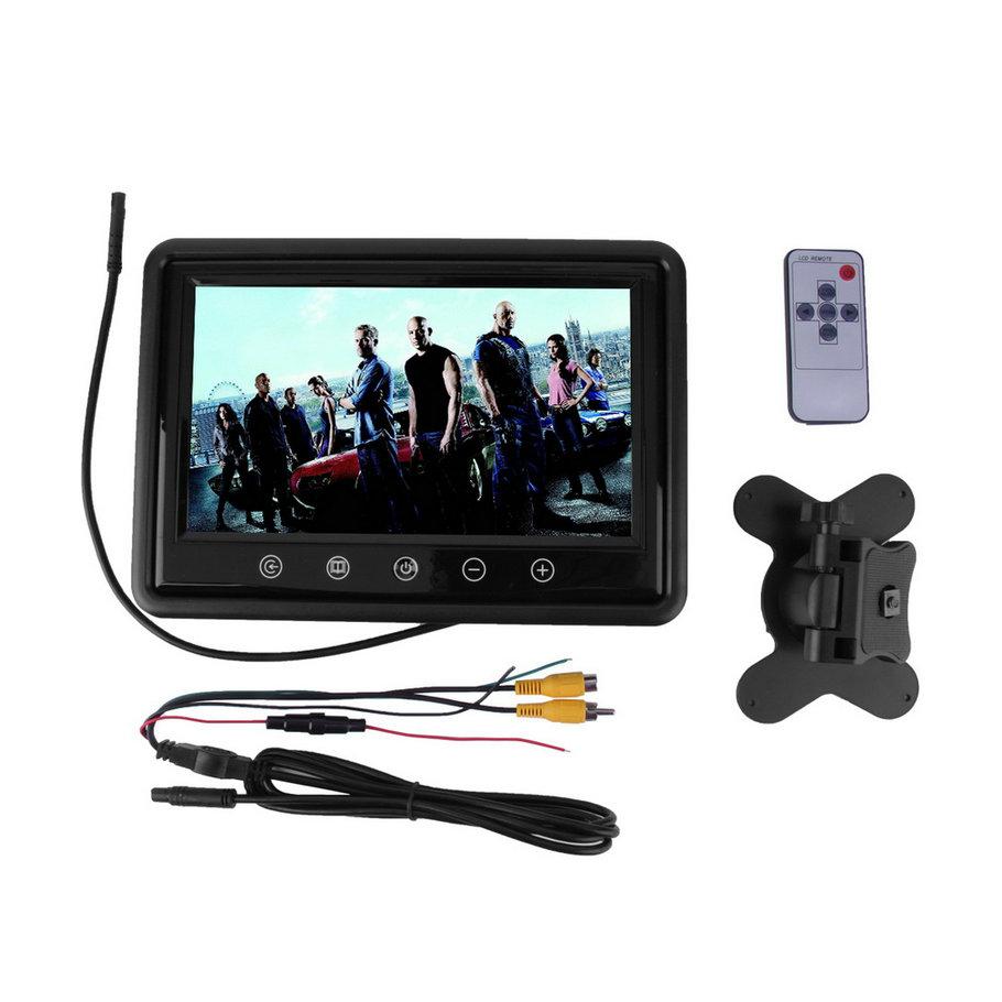 9 inch Touchscreen LCD Car Monitor Computer HD Digital TFT Color Monitors AV Support as Computer Screen(China (Mainland))