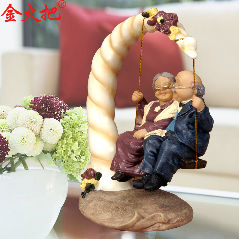 Image gallery old couple ornaments for Wedding ornaments