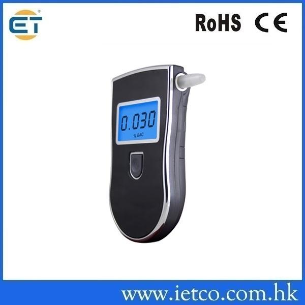 Patent Police Black Digital Alcotest Alcohol Breath Analyzer Detector Breathalyzer Tester Test