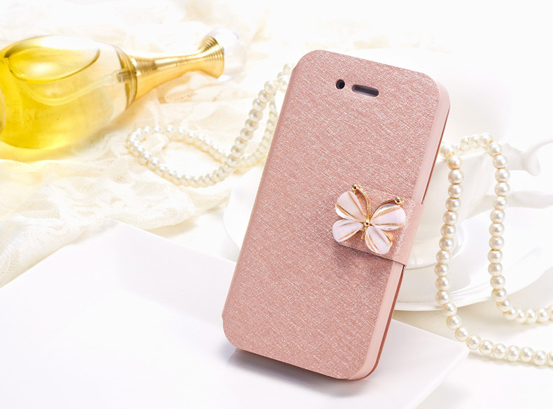 capinha celular mobile phone bag capa para magnetic flip coque case for iphone 5 5s 4 4s 6 plus to Silk Leather cover by funda