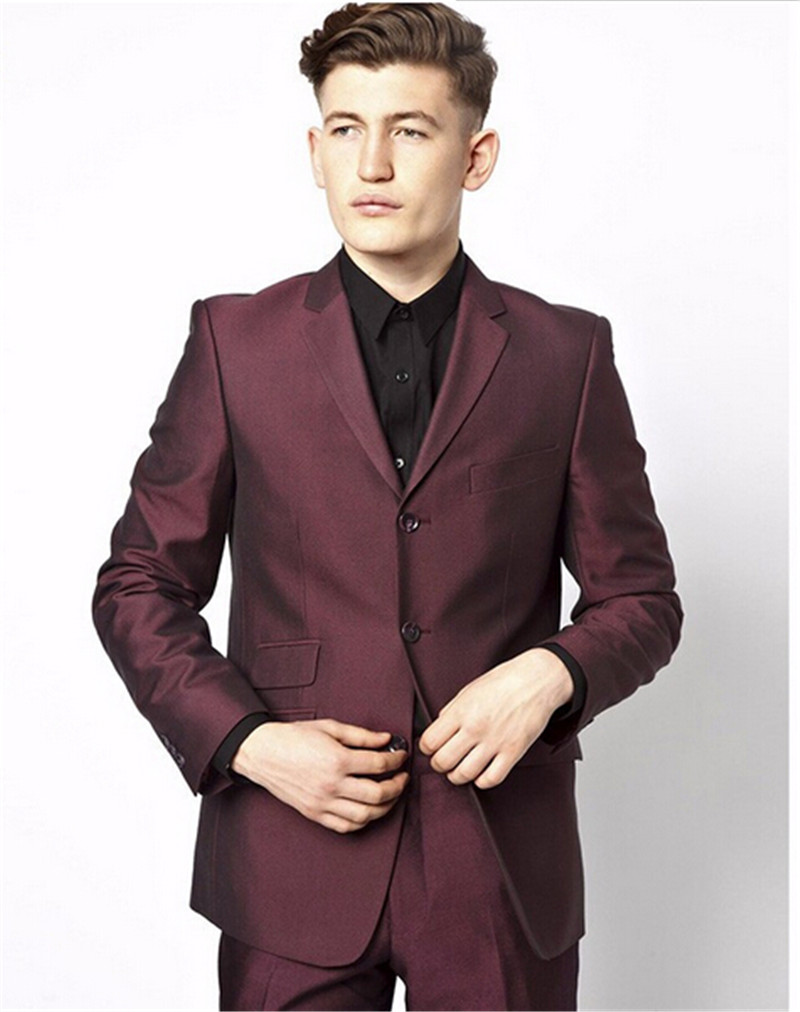 Compare Prices on Burgundy Prom Suit- Online Shopping/Buy Low