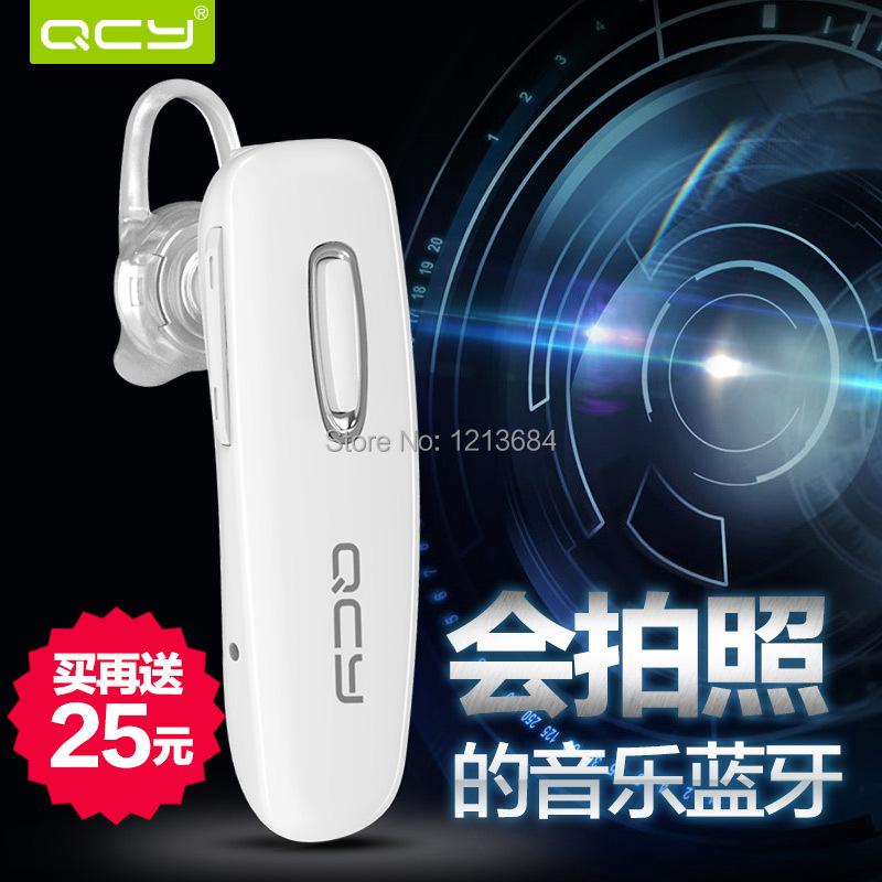 QCY Jack J02 Chinese voice Universal Bluetooth Headset 4.0 Stereo Bluetooth Wireless Mini(China (Mainland))