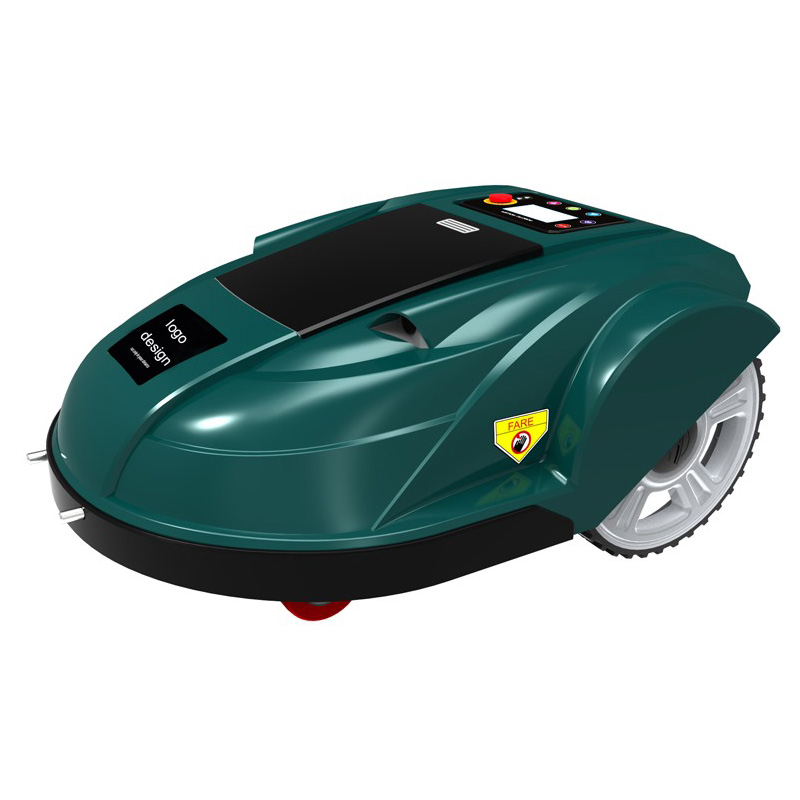 Cool Electric Lawn Mower Intelligent Robot Mower With Battery Power Robotic Mower Design(China (Mainland))
