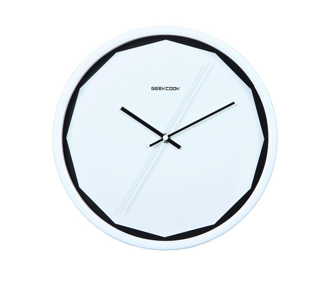 Perfect aspect metal clock, creative personality mute clock, contemporary and contracted quartz clock.(China (Mainland))