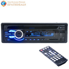 12V Auto Car Audio Stereo FM Radios DVD VCD CD CD-R CD-RW MP3 MP4 / Player Support USB / SD / MMC + Remote Control(China (Mainland))