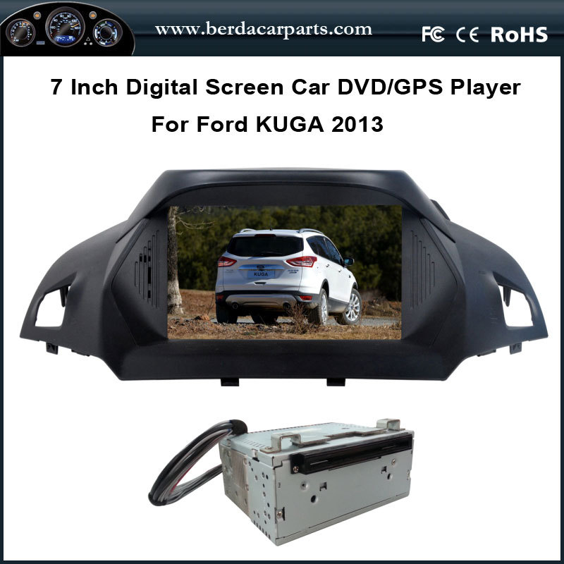 "8"" Car DVD Video Player For Ford FORD KUGA 2013 2014 With GPS Navi Radio Bluetooth Free Map(China (Mainland))"