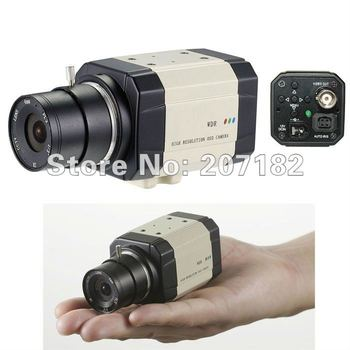 "1/3"" SONY 960H EXview HAD CCD II 700TVL 0.0003Lux  Real-WDR OSD 3D-DNR Sens-Up(X1024) CCTV Video Mini Box Camera (Without Lens)"