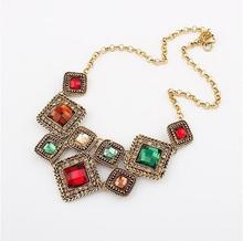 N390 European and American fashion hot piece box Necklace!#1470(China (Mainland))