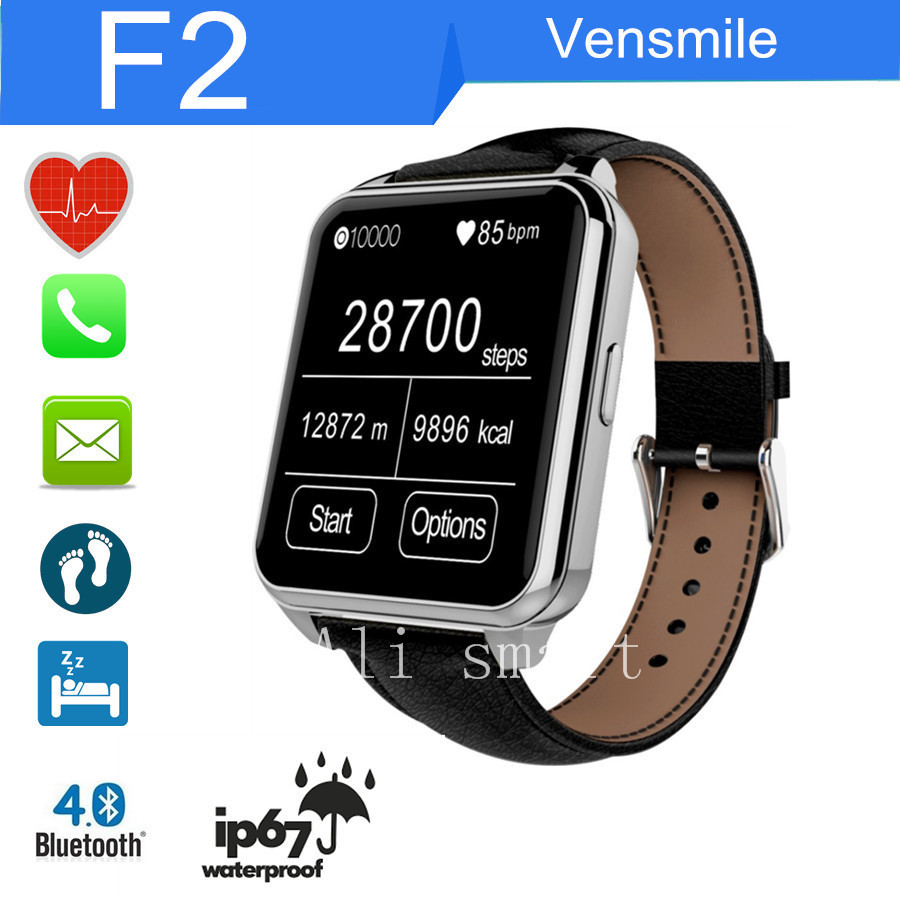 Heart Rate for apple iphone &amp; android smartphone heart rate Waterproof Bluetooth SmartWatch monitor Sync sms/call Free Shipping<br><br>Aliexpress