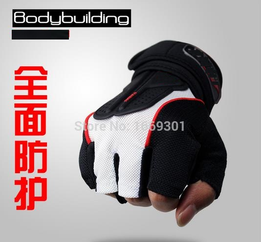 strong gym fitness gloves power luvas fitness academia anti skid guantes gym protective crossfit gloves weight
