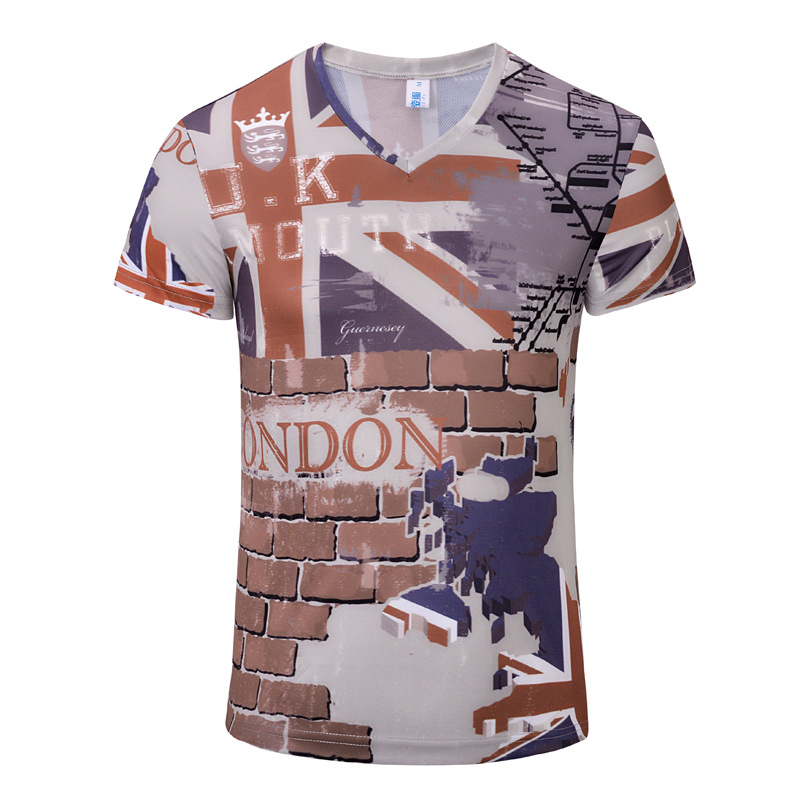 New Arrival Men Printed UK national flag T-shirt Men fashion T Shirt high quality British Style T shirt Men Summer clothing(China (Mainland))