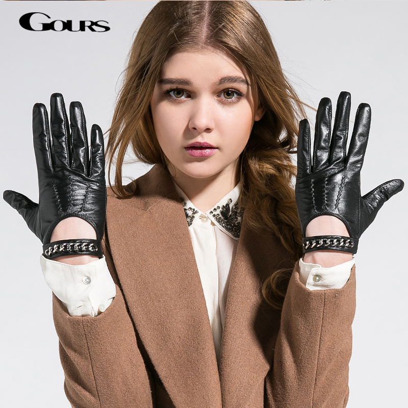 Women In Leather Sex Gloves 55