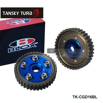 TANSKY - For 88-00 Honda Civic D15 D16 Sohc Adjustable Racing Cam Gear Timing Gear pulley kitTK-CGD16BL