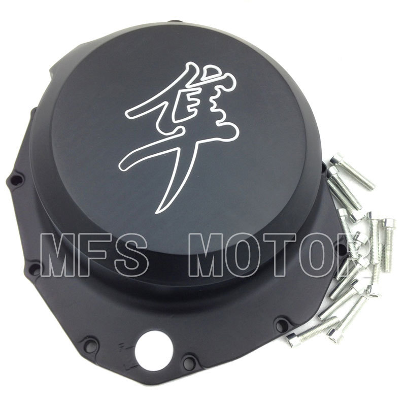 Motorcycle right side Engine Clutch cover For Suzuki Hayabusa GSXR1300 1999-2013 B-king 2008 2009 Black