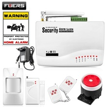 Buy FUERS Wireless GSM Alarm System Dual Antenna Alarm Systems Security Home Alarm Russian English Voice PIR detector for $26.67 in AliExpress store