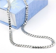 2015 New design Stainless steel Hot designer Necklace Mens Necklaces Fashion Jewelry Titanium Chain Necklace mens gift,mx07(China (Mainland))