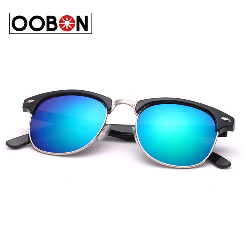OOBON 2016 Women and men Fashion Sunglasses Designer Eyewear UV400 Gradient Female Retro Sun Glasses Brand(China (Mainland))
