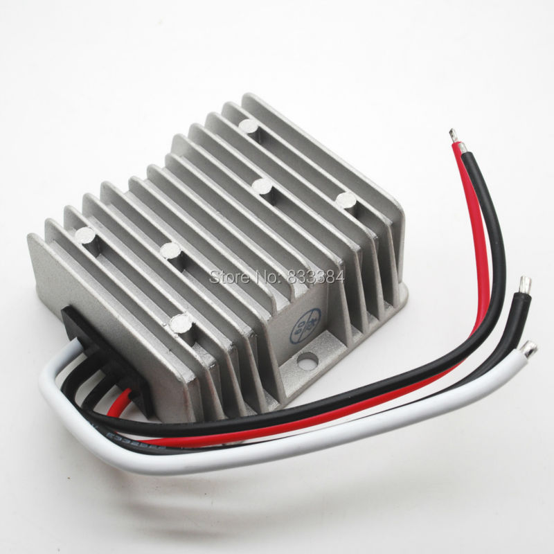 Free Shipping 12V universal Step Down to 13.8V DC 10A 138W for car charge Electric Vehicle DC Converter(China (Mainland))