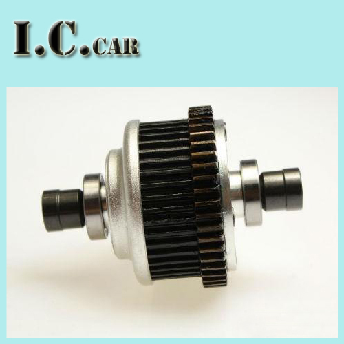 Monster Truck rear Alloy diff setFor 1/5 FG RC CARS Rovan Parts(China (Mainland))