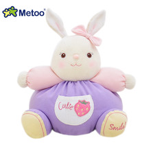 Buy Metoo Colorful New Light Dolls Cotton Bunny Doll Plush Elephant Toys Kids Baby Learn Color 23*23cm Best Gifts Girl for $20.99 in AliExpress store