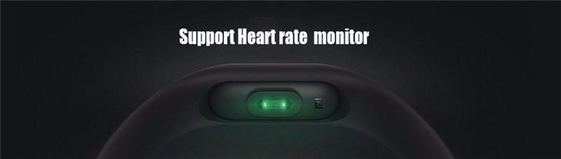 ถูก ต้นฉบับxiaomi miวง2 xiomi miband2ชีพจรสร้อยข้อมือสมาร์ทกันน้ำip67 smartband h eart rate monitor miband2สายรัดข้อมือ