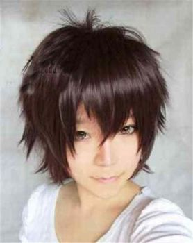 Harajuku Anime Cosplay Short Wig