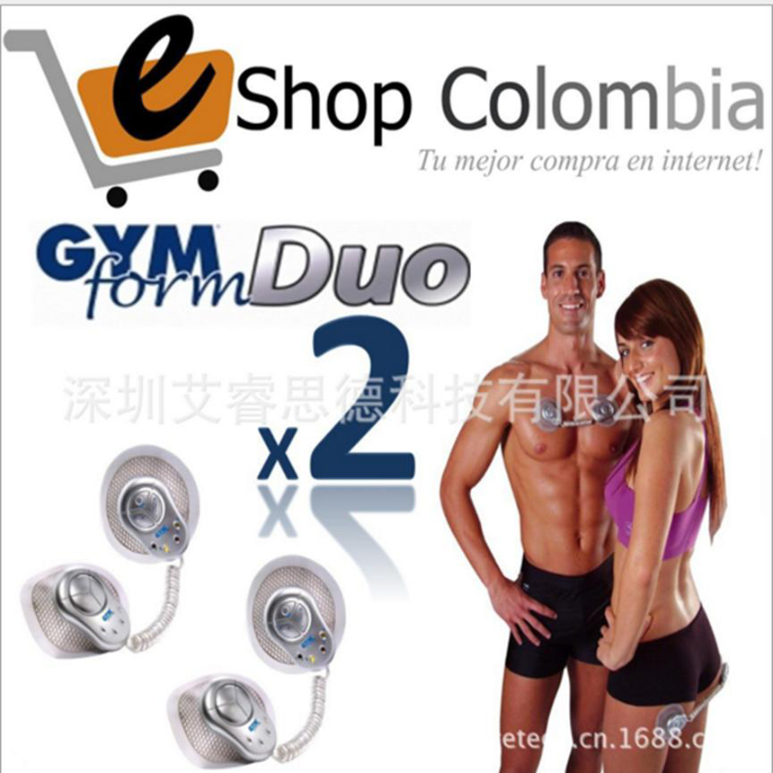 2015 New Fashion Body Massager 2 Pads Gymform Duo Electrical Muscle Stimulator Full Relax