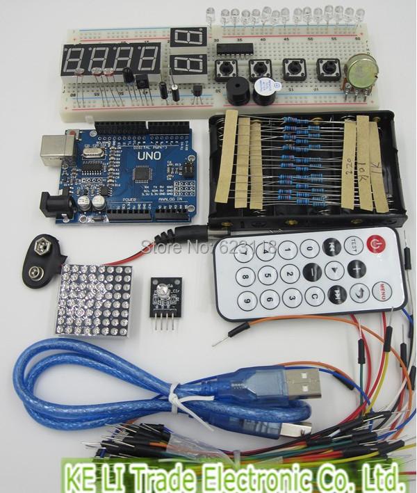 Sainsmart uno r starter kit arduino compatible