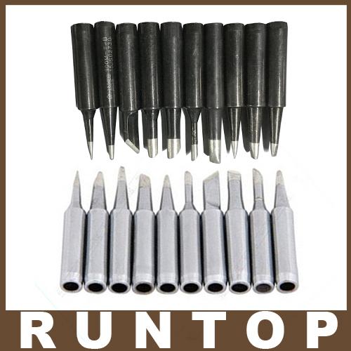 20 pcs lot black and white lead free solder iron tip 900m t for soldering re. Black Bedroom Furniture Sets. Home Design Ideas