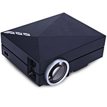 GM60A LED Home Theater Projector Upgrade Version Built-in Diplay  800 x 480 Native Resolution Mini Metal HD Video Beamer 1080P(China (Mainland))