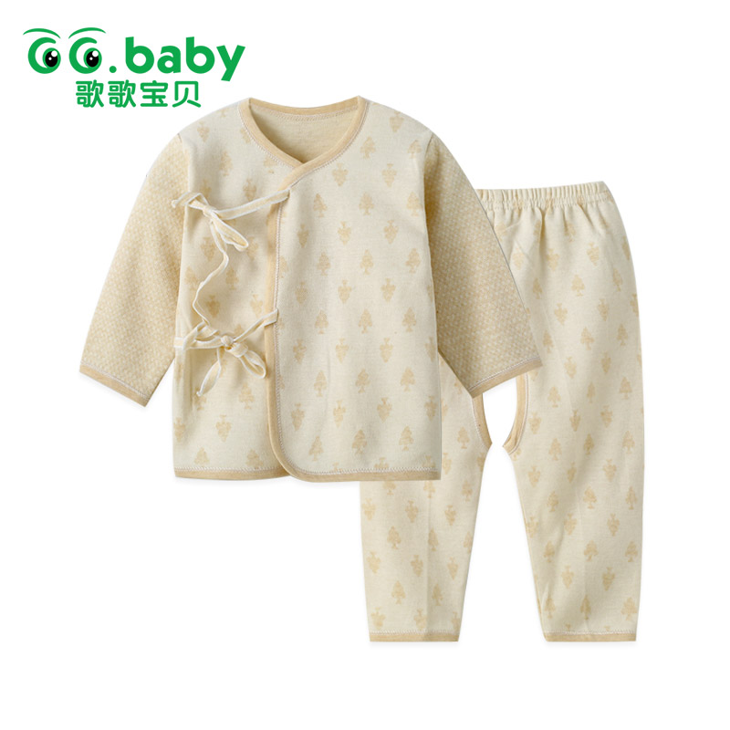 Newborn 2016 Baby Clothing Suit Long Sleeved Fashion Baby Boys Girls Clothes For 0-2 Years Old Jersey Fabric Long Pants(China (Mainland))