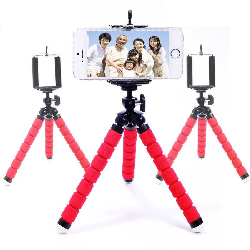Universal Octopus Digital Camera Tripod, Flexible Tripod Stand Holder For Mobile Phone, Portable Bicycle Holder Mount(China (Mainland))