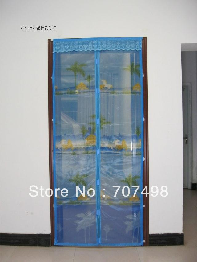 Invisible sand window simple window screen window curtain for Invisible fly screen doors