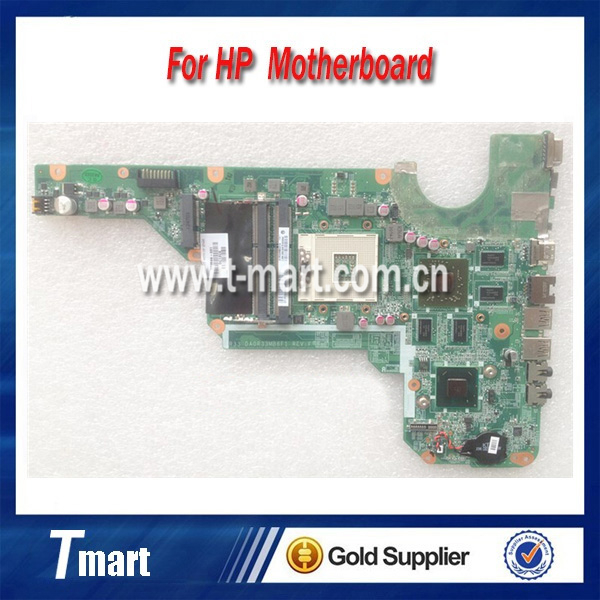 100% working Laptop Motherboard for hp G4 G4-2000 680569-001 System Board fully tested