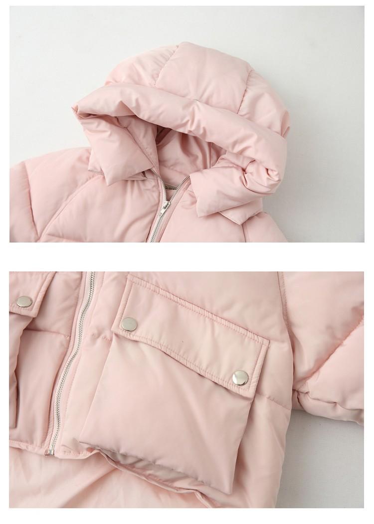 Скидки на Плюс Размер Новый Стиль 2016 Зимняя куртка Женщин Вниз Пальто куртка Короткие Punk Rock Пальто Теплое С Капюшоном Хлопок Внутри Верхней Одежды ветрозащитный