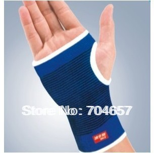 Free Shipping Pair of Exercise Palm & Wrist Support Protector Boxing Inner Gloves Size Free(China (Mainland))