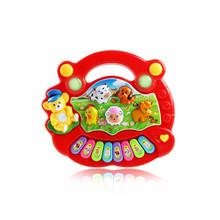 Kids Music Musical Developmental Animal Farm Piano Sound Educational Toy (China (Mainland))