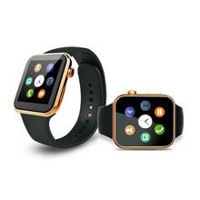 Новый Smartwatch bluetooth-смарт часы A9 поддержки Apple iPhone ios Android телефон с монитором сердечного ритма выглядит как яблоко часы